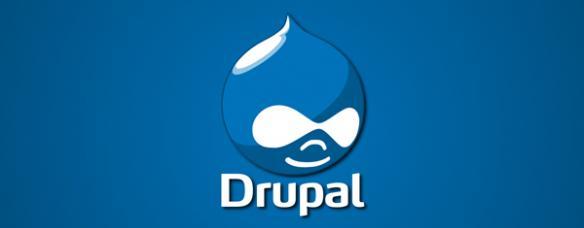 Logotipo do Sistema de Sestión de Contidos (CMS) Drupal