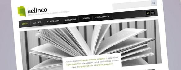 Deseño dunha nova páxina web e deseño da identidade visual para AELINCO