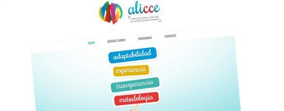 Páxina Web Corporativa de Alicce