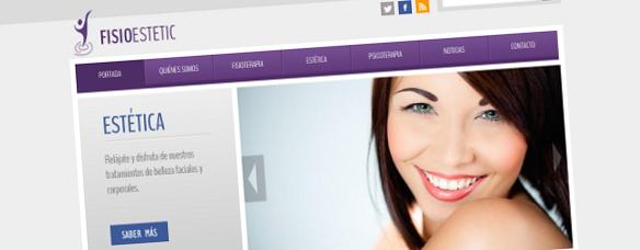 Nova Páxina Web Coporativa para Fisioestetic