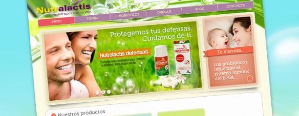 Creación de Tenda Online para Nutralactis